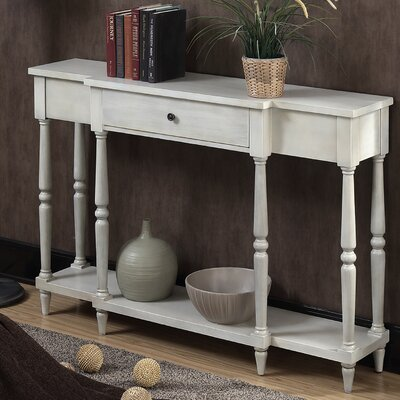 Kaiden Antiqued Console Table