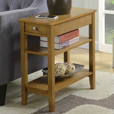 Greenspan End Table With Storage� Color: Dark Walnut