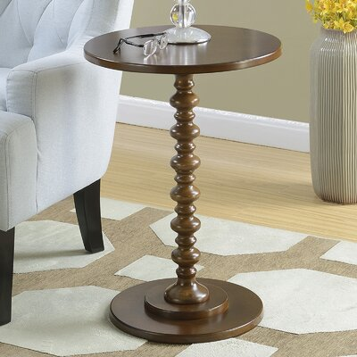 Segera Spindle End Table Finish: Espresso