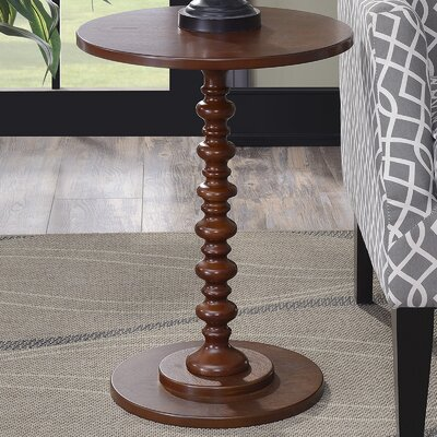 Segera End Table Color: Mahogany