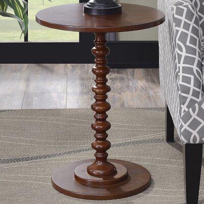 Segera Spindle End Table Finish: Mahogany
