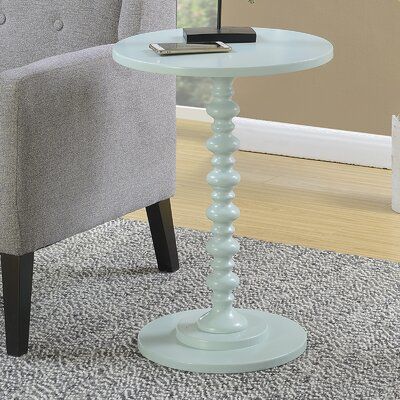 Segera Spindle End Table Finish: Sea Foam