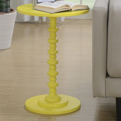 Segera End Table Color: Yellow