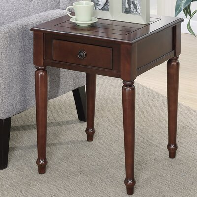 Widmer End Table Finish: Espresso