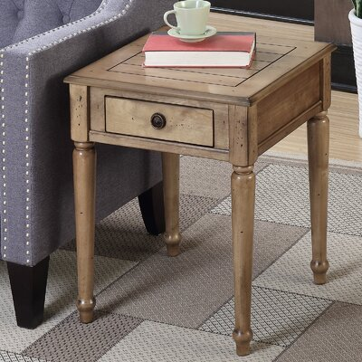 Widmer End Table Color: Antique Walnut