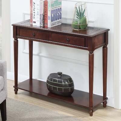 Widmer Console Table Finish: Espresso