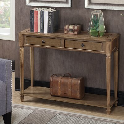 Widmer Console Table Finish: Antique Walnut
