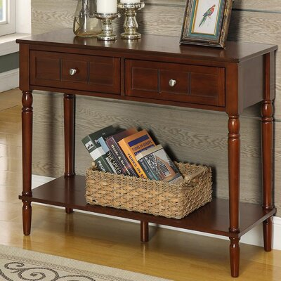 Callery 2 Drawer Console Table Finish: Espresso