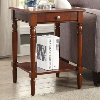 Carlisle End Table Top Color: Espresso