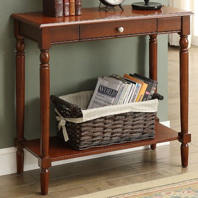 Callery Wood Console Table Finish: Espresso