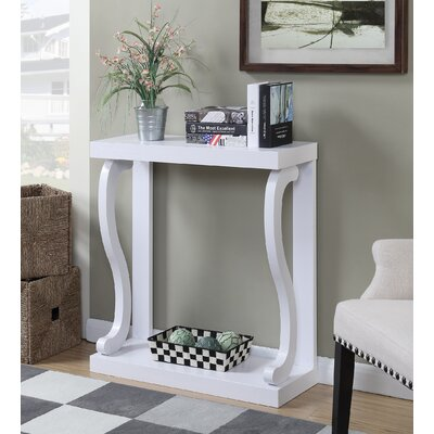Hubbard Console Table Finish: White