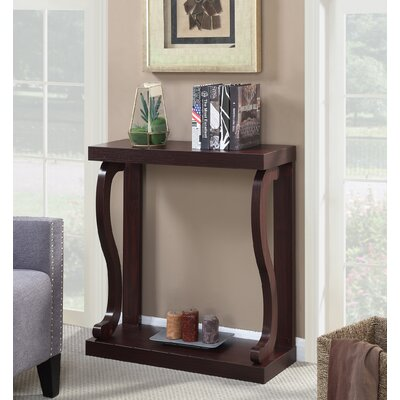 Hubbard Console Table Finish: Brown