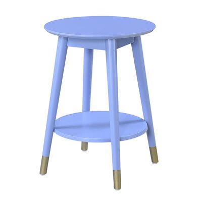 Boese End Table Color: Blue