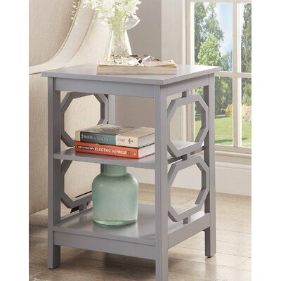 Ardenvor End Table Color: Gray