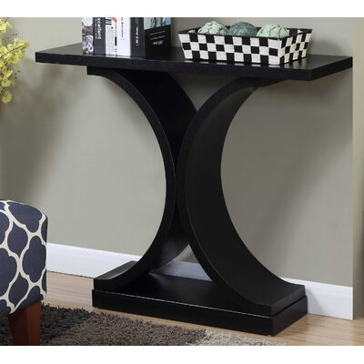 Hubbard Curved Base Console Table