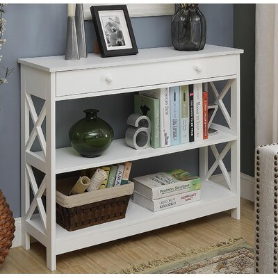 Cataleya 1 Drawer Console Table Finish: White