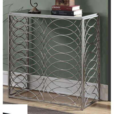 Bracknell Console Table Finish: Silver