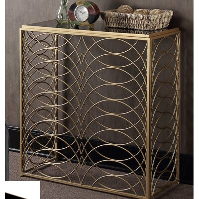Bracknell Console Table Finish: Gold