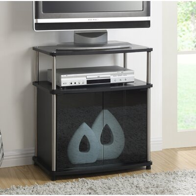 Burke 23.6 TV Stand Color: Black