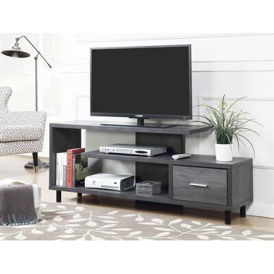 Edwin 59 TV Stand Color: Charcoal Gray
