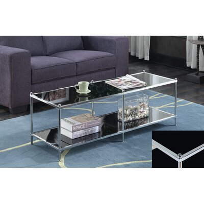 Royal Crest Coffee Table Color: Black
