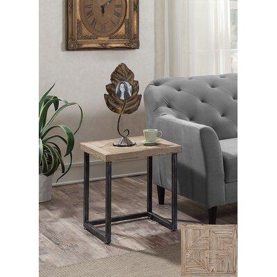 Adalheid Parquet End Table
