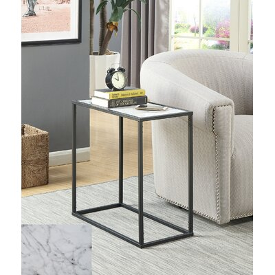 Roark End Table Color: Black