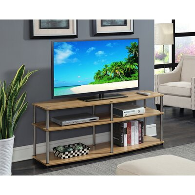 Edwin 59 TV Stand Color: Light Oak