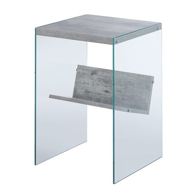 Calorafield End Table Color: Gray