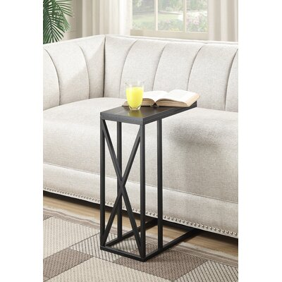 Steuben C End Table Color: Black