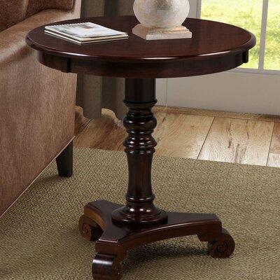 Moravian Classic Accents End Table Color: Espresso