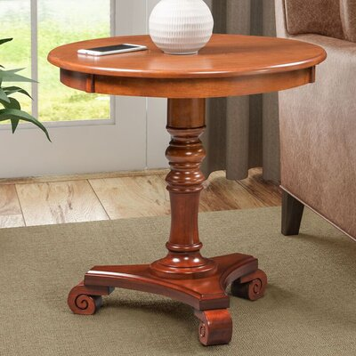 Moravian Classic Accents End Table Color: Chestnut