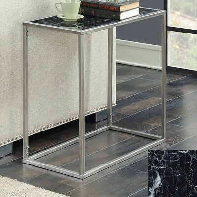 Roark End Table Color: Gray