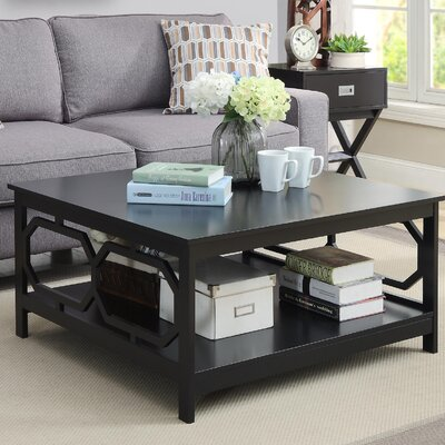 Country Walk Coffee Table Color: Black