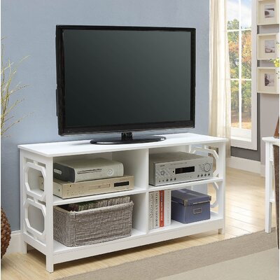 Country Walk TV Stand Color: White
