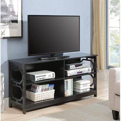 Country Walk TV Stand Color: Black