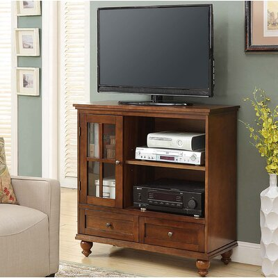 Schererville 36 TV Stand Color: Dark Walnut