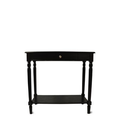 Convenience Concepts French Country Console Table - Top Finish: Black at Sears.com