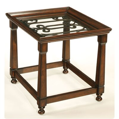 Cheap Hammary Drayton Rectangular End Table in Vineyard Brown (HAM3003)