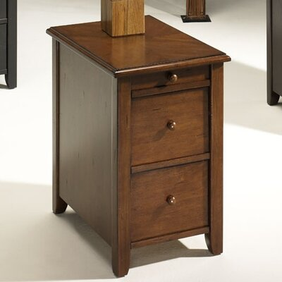 Hatley End Table Finish: Cherry