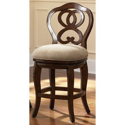 Paier Counter Height Barstool Finish: Black