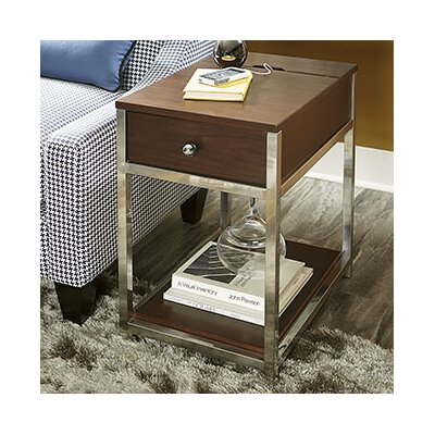 Aristocles Wood End Table