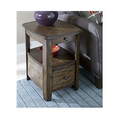 Hassania Wood Chairside Table