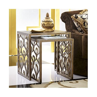 Bob Mackie 2 Piece Nesting Tables