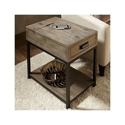 Winooski Wood End Table