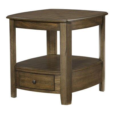 Hassania Wood End Table