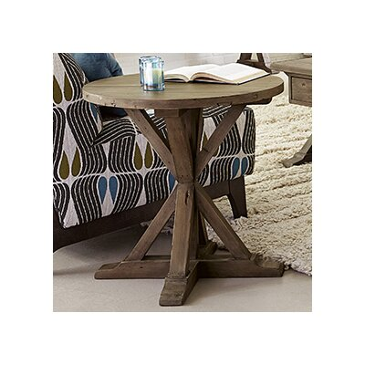 Samar Round End Table
