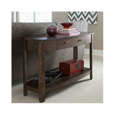 Hassania Wood Console Table