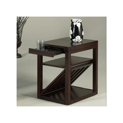 Easy financing Chairsides Jefferson End Table Fini...