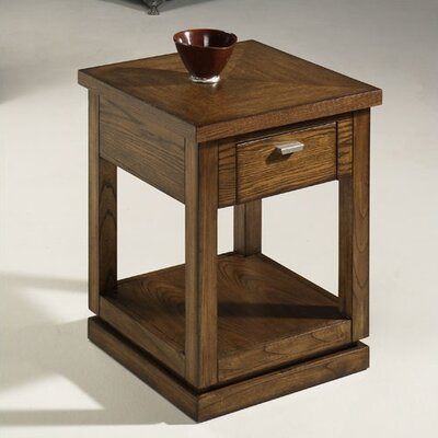 Cheap Hammary Kanson Side Table in Prairie (HAM1393)
